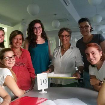 Foto di gruppo durante il volontariato - Capodifaro