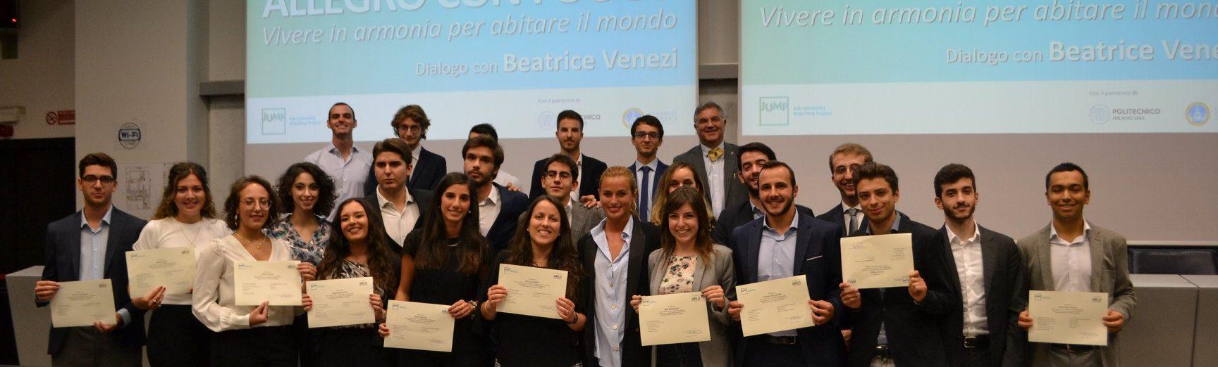 Beatrice Venezi inaugura l'anno accademico JUMP